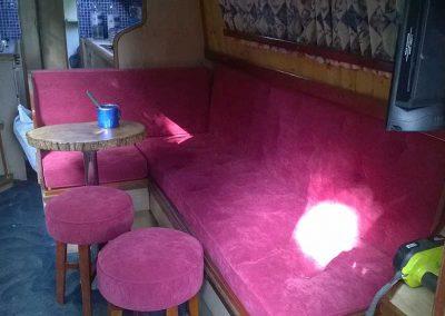 Narrow Boat Bench Seating