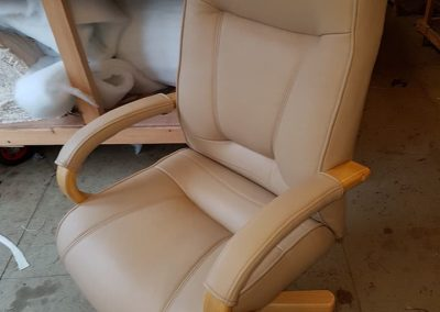 Office Chair Upholstered In ILP Contempo Leather