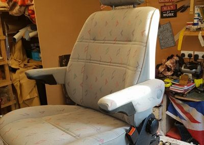 VW Transporter T4 Seat Reupholstery